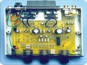 Bộ khuếch đại điều khiển âm thanh nổi với TDA1519A