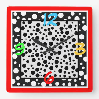 Number 4 White Clocks, Number 4 White Wall Clock Designs