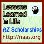 Lessons Learned in Life Scholarships for Arizona students