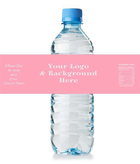 Floral Water Bottle Labels Wedding, LOWEST Price Water
