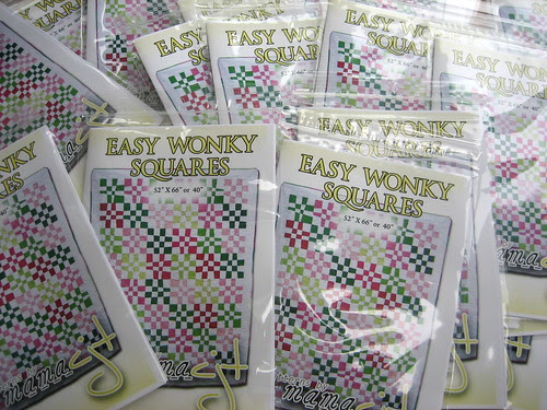 Easy Wonky Squares