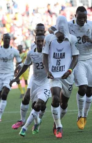 Gana superou Mali por 1 a 0 e ficou perto de vaga Foto:  / AFP
