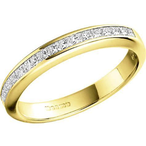 Half Eternity Ring/Diamond set wedding ring for women in