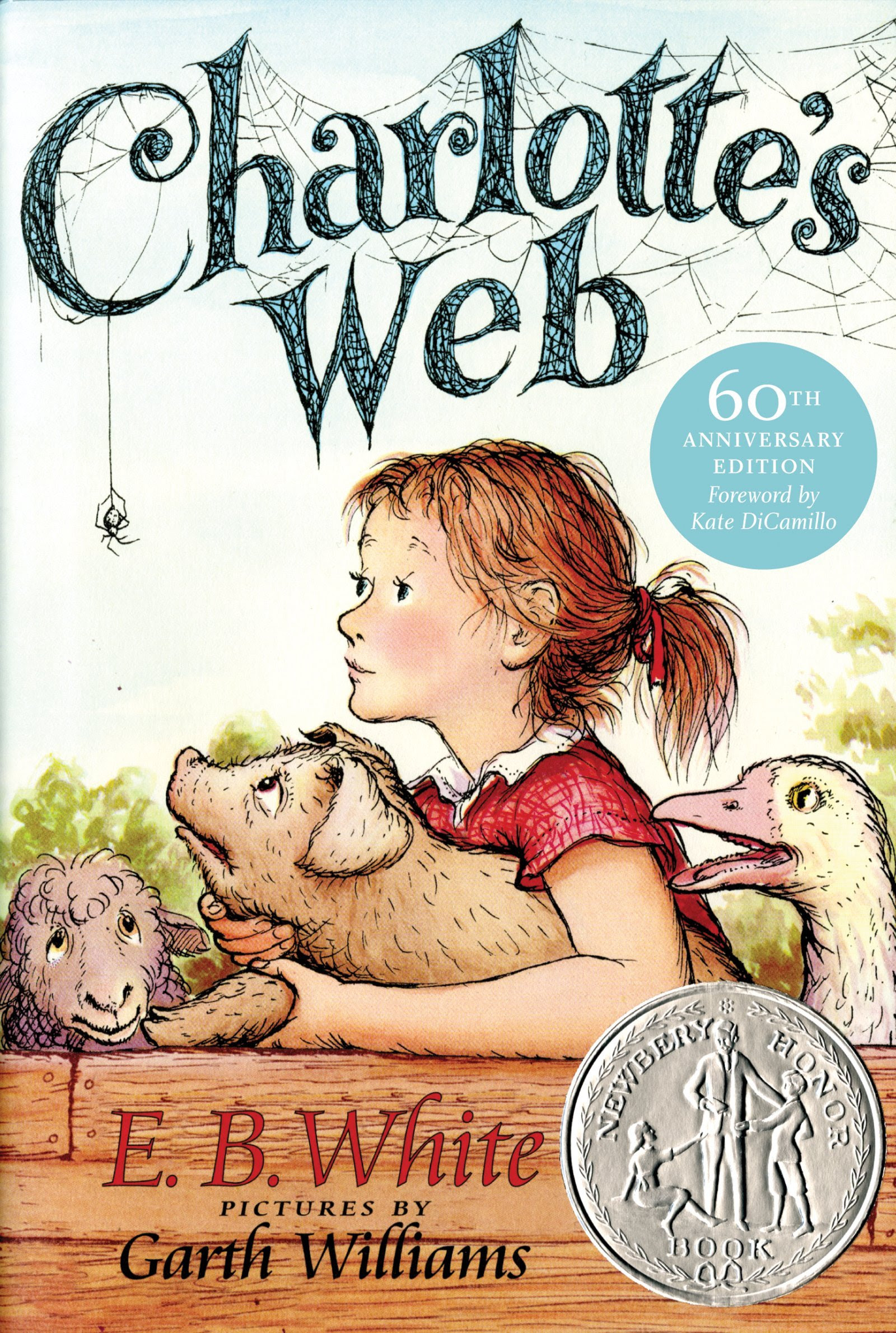 Charlotte's Web, part of list of chapter books for preschoolers