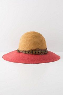 Anthropologie Crimson Borders Hat