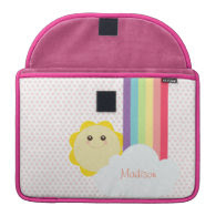Kawaii Sun & Rainbow MacBook Pro Sleeves