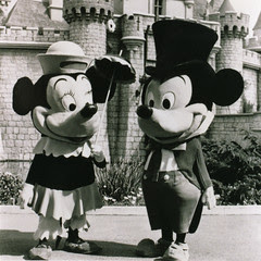 Mickey & Minnie Mouse 1961