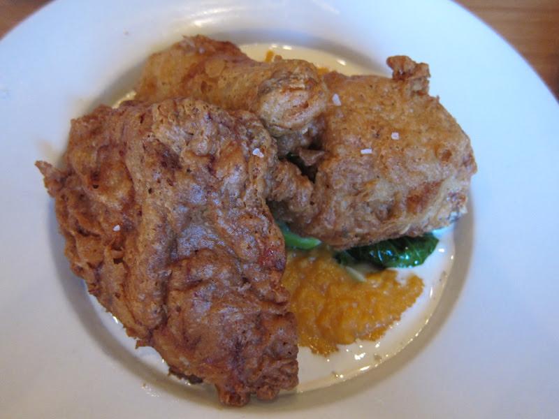 Marigny Brasserie buttermilk fried chicken