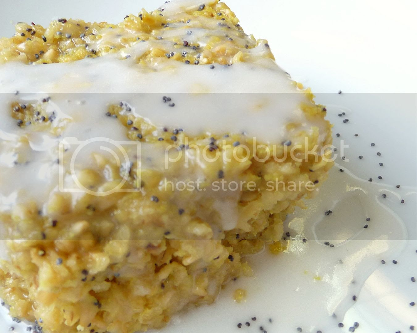 lemon poppy seed baked oatmeal