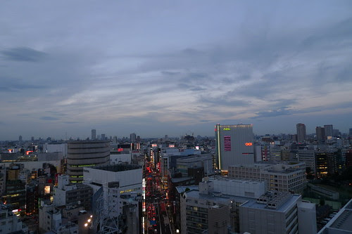 twilight in shinjuku