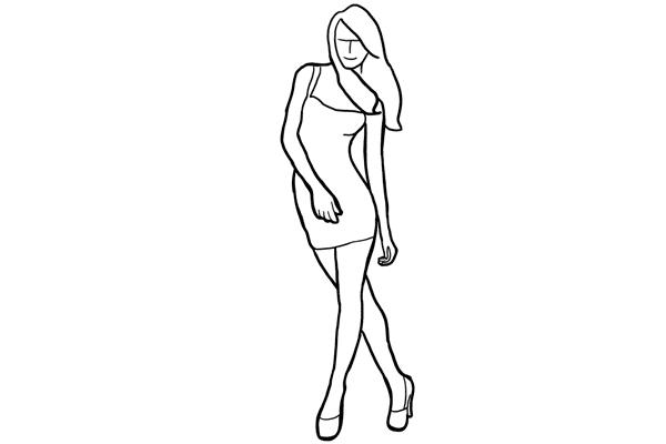 Позирование: позы для женского портрета 2-20
