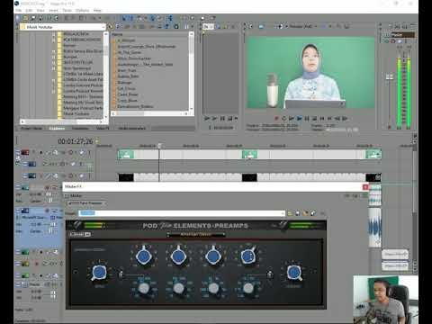 Tutorial Vegas Video Podcast Editing