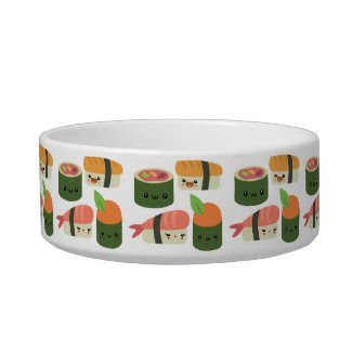 Sushi Friends Cat Bowl