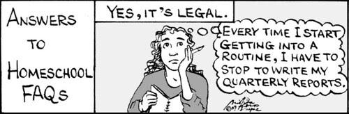 Home Spun comic strip #401