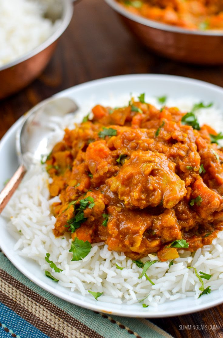 Syn Free Chicken, Sweet Potato and Lentil Curry | Slimming ...