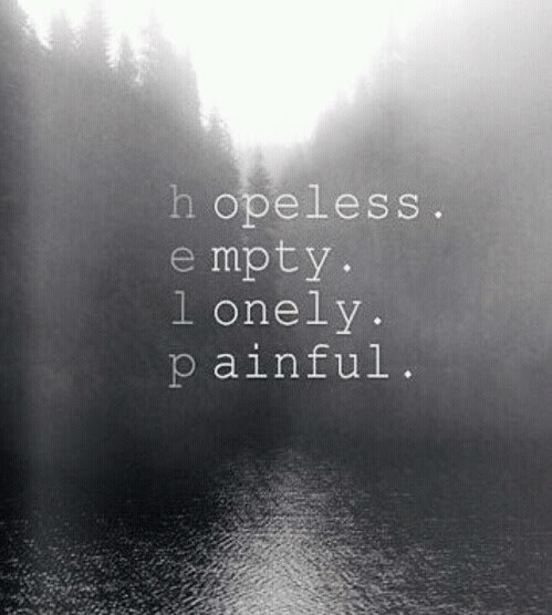 #Depression #Emptiness #Pain #SelfDisappointment # ...