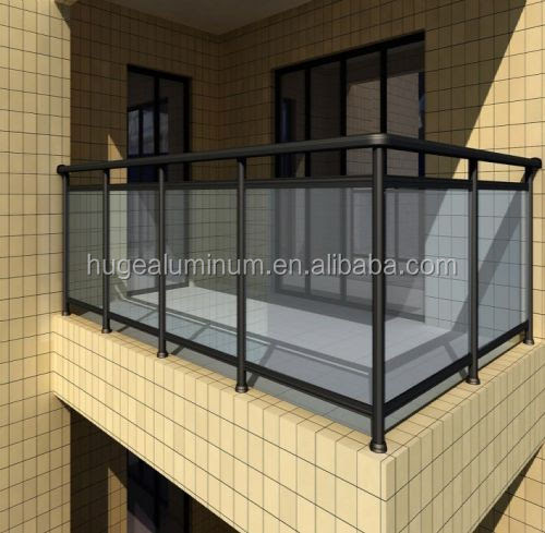 Balcony Coated Glass Railingyuanwenjuncom