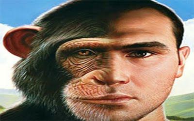 Resultado de imagem para homem e macaco