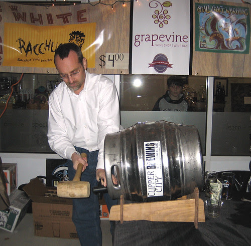 Tapping the cask