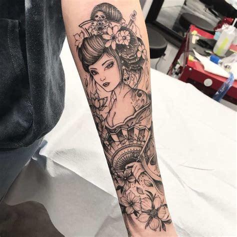 top geisha tattoo ideas inspiration guide