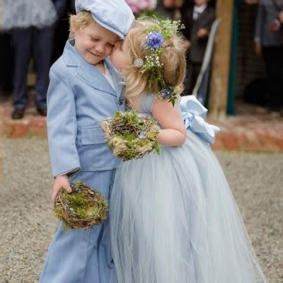 What do ushers, page boys, ring bearers and flower girls