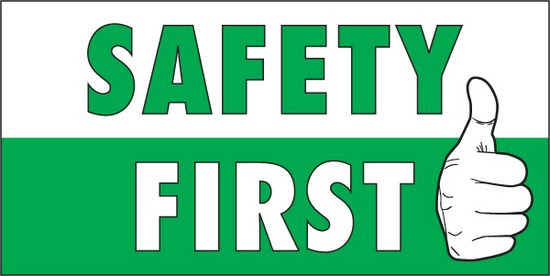 safety of the product first