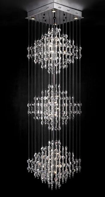Ultra-modern crystal chandelier 3D Model Download,Free 3D ...