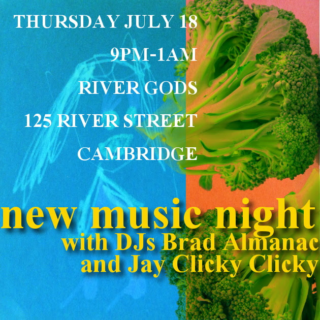 New Music Night 11 with DJs Brad Almanac + Jay Clicky Clicky