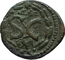 ELAGABALUS 218AD Antioch in Seleukis Pieria Ancient Roman Coin w EAGLE i66349