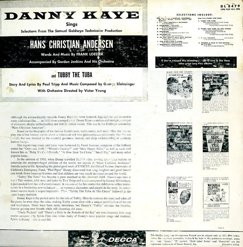 Danny Kaye_Hans Christian Anderson_bk_tatteredandlost