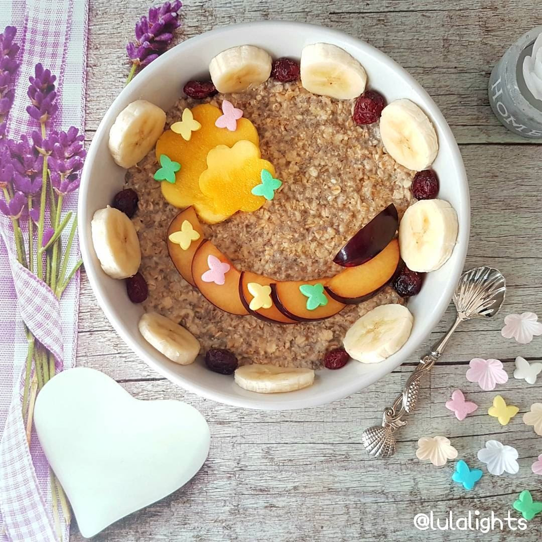 Goodmorning Friendshappy Sundaycinnamon Oats With Mangoplums