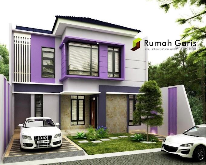 Bentuk Depan Rumah Minimalis 2 Lantai | Ide Rumah Minimalis