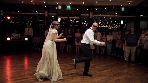BEST surprise father daughter wedding dance to epic son
