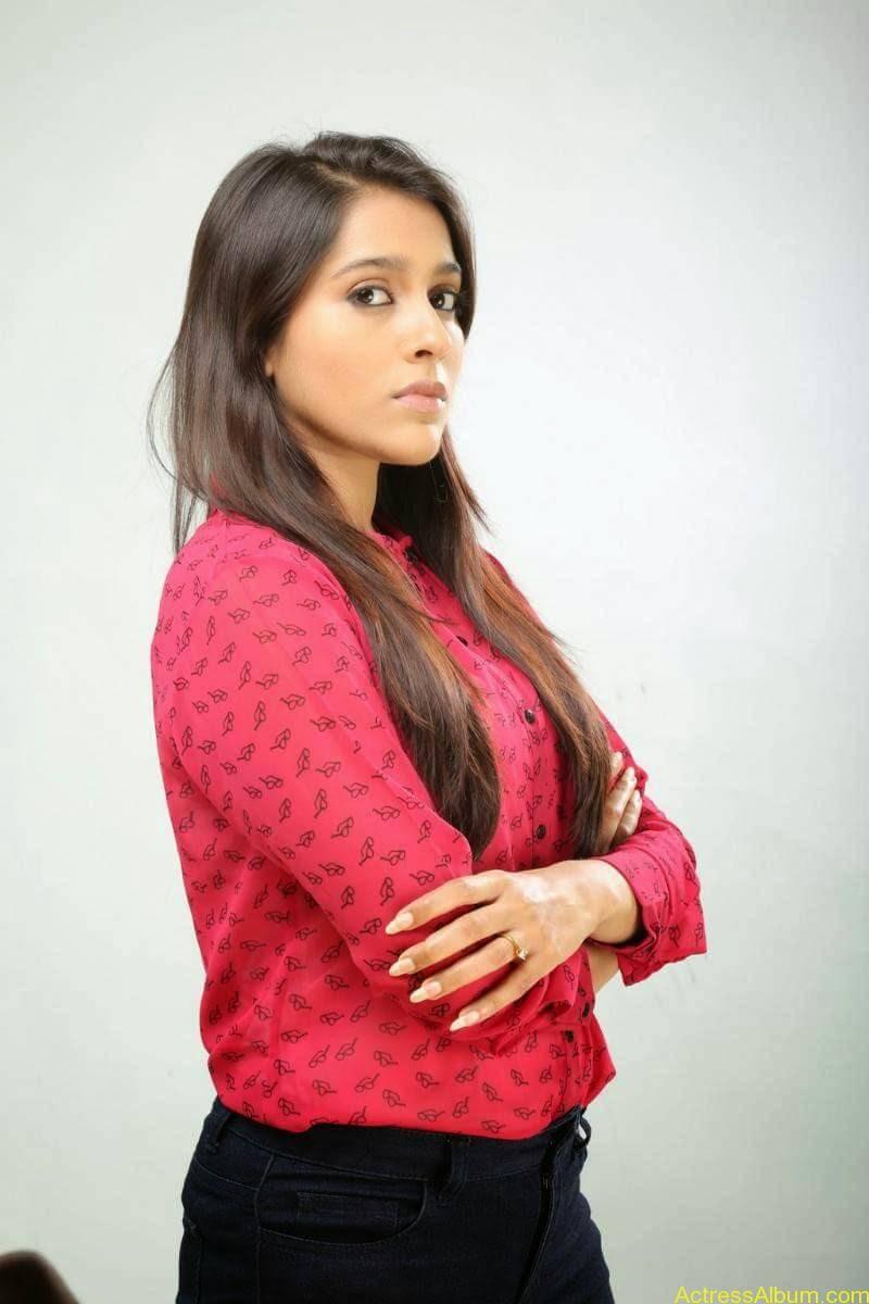 Rashmi Gautam Hot pink dress 8
