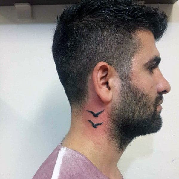 40 Seagull Tattoo Designs For Men - Seabird Ink Ideas