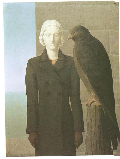 Deep waters, 1941 Rene Magritte