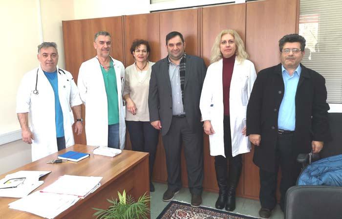 Άρτα: ΙΣΑ - Συνάντηση με το νέο διοικητή του νοσοκομείου