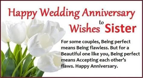 Happy Wedding Anniversary Wishes To Sister   www.imgkid