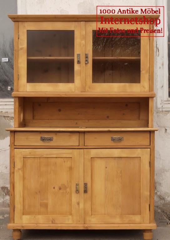 Altes antikes Küchenbüfett Küchenschrank Bauernbüfett Büfett