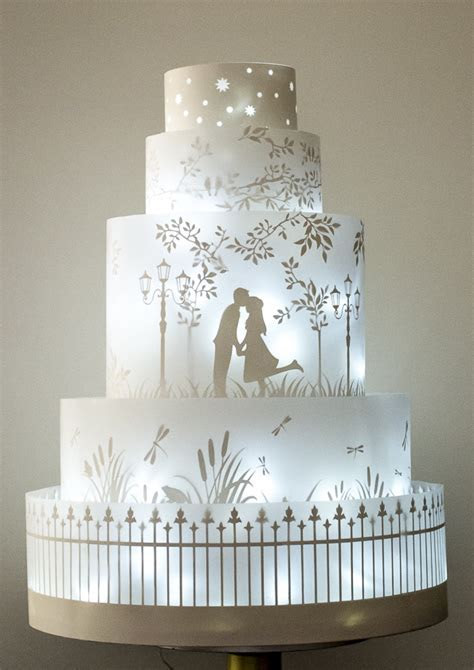 Rosalind Miller wedding cakes ? the Winter Collection