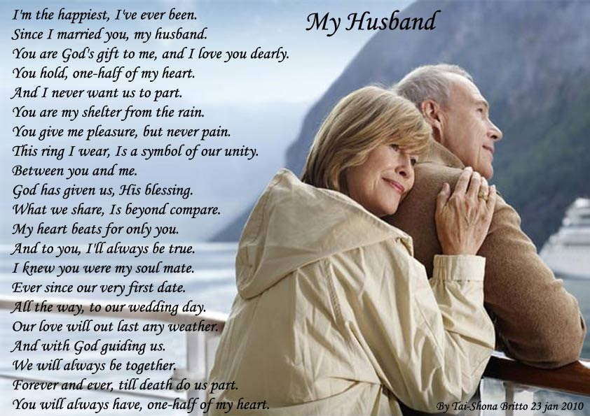 Love poems for him for her for the one you love for your boyfriend for a girl for a girlfriend - Wallpaper i love my husband ...