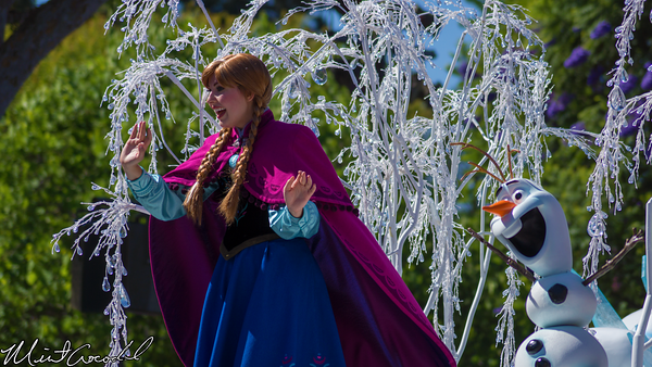 Disneyland Resort, Disneyland, Frozen, Float, Parade, Soundsational