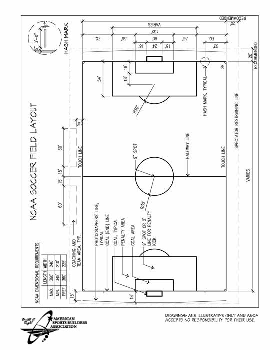 Soccer Field Layout - Cliparts.co