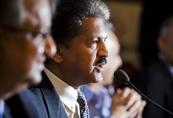 Mahindra Group chairman and MD Anand Mahindra
