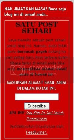 Kotak email rss
