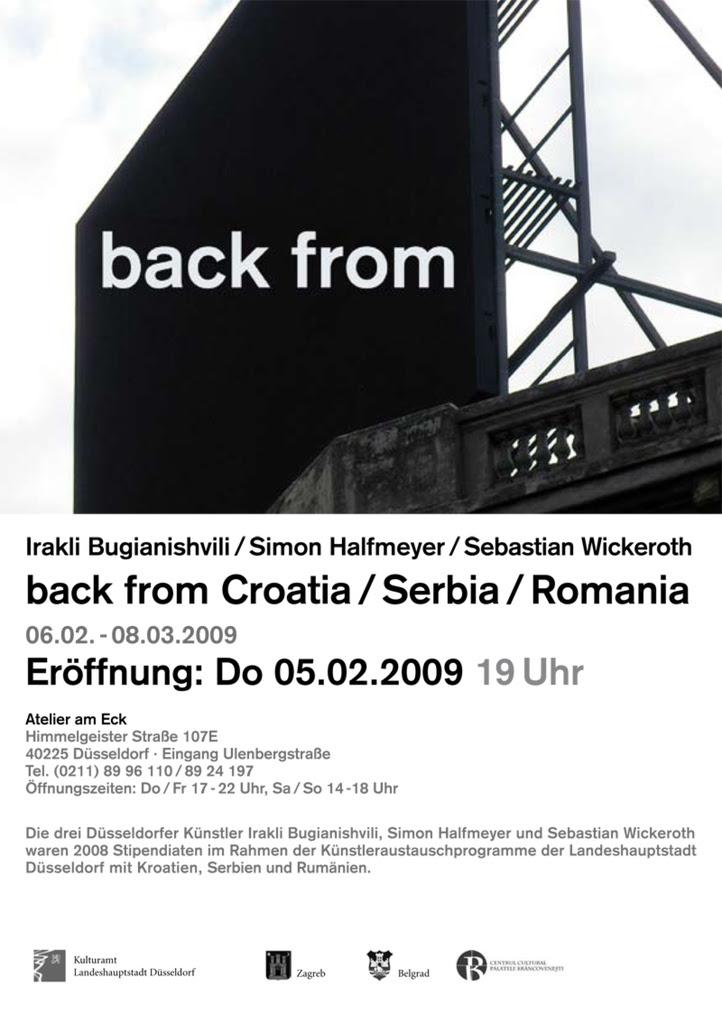back from croatia / serbia / romania