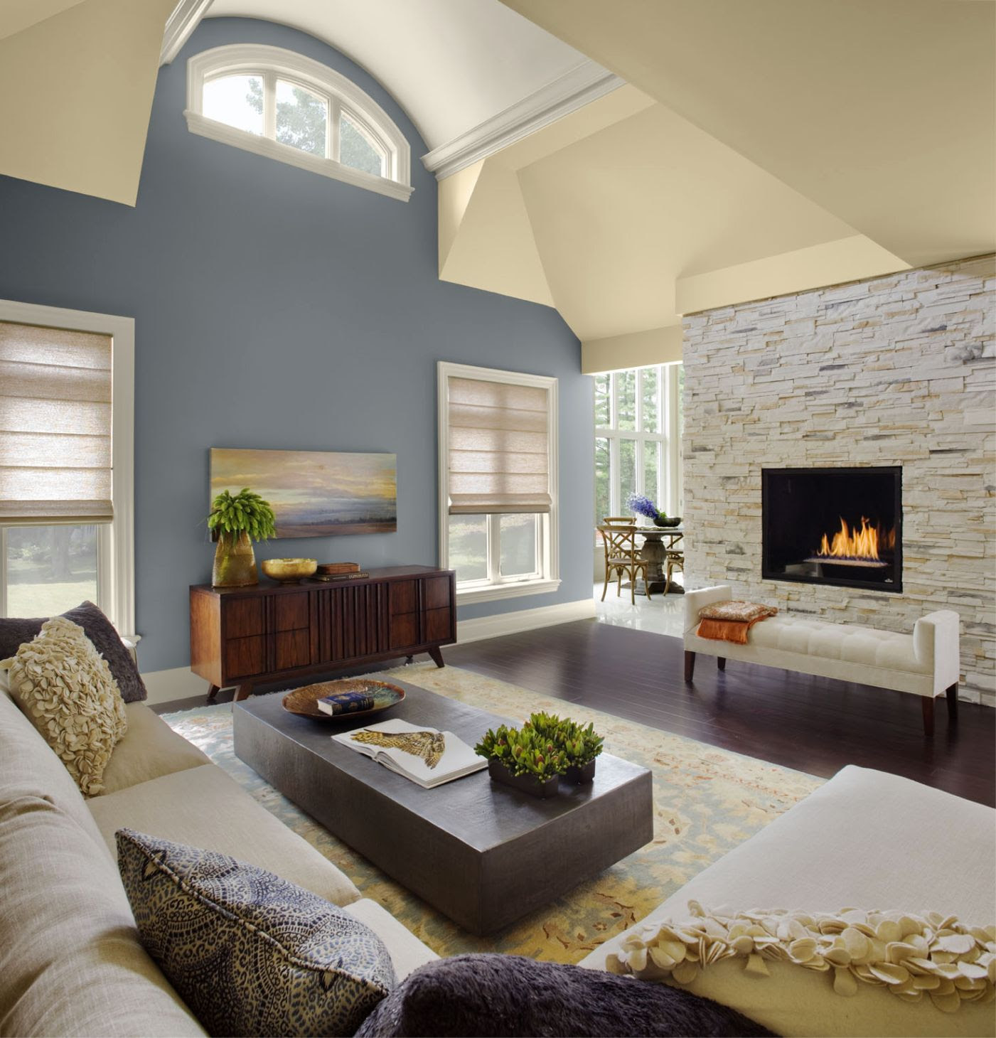Decorating A Vaulted Ceiling Living Room Natilittlethings