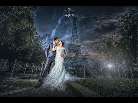 Pre wedding photo editing LightRoom & PhotoShop CC 11