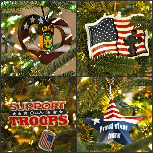 army ornaments