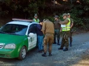 alto bio bio - acoso policial